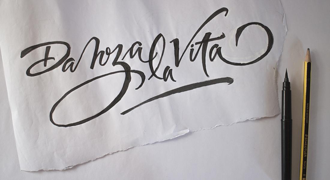 DANZA LA VITA - handwriting